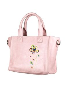 """Travel in colour with a curious ladybug as it weaves its way towards beautiful, blossoming petals. Carry your lunch in style while keeping it cool with this insulated purse! There is a top zipper to keep everything secure, and a detachable long strap if you want to carry it hands-free. Size: 10.5""""w x 8""""h x 4.5""""dMateri Insulated Lunch Bags, Reusable Tote Bags, How To Remove Adhesive, Keep Cool, Long Wallet, Free Gifts, Vegan Leather, Ladybug, Diaper Bag"""