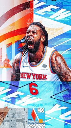 Nba New York, New York Knicks, Sports Art, Sports Fan Shop, Ball Birthday Parties, Nba Wallpapers, Girl Silhouette, Basketball Art, Sports Graphics