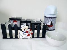 Kit higiene - urso marinheiro