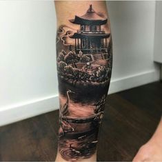 Image result for mangas de tatuajes templos chinas