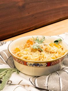Baked Brown Rice, Butternut Squash Risotto, Risotto Recipes, Rice Dishes, Side Dishes Easy, Spanakopita, Parmesan, Casseroles, Ham