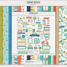 Scenic Route Full Kit  by Deena Rutter
