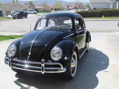 1956 Volkswagen Beetle Deluxe Sedan