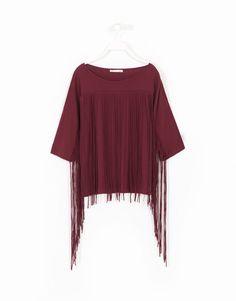 CAMISETA FLECOS por sólo 12.99 en Lefties. Entra ahora y descubre nuestra colección de Camisetas y Tops Bell Sleeves, Bell Sleeve Top, Shirt Designs, Fashion Outfits, Blouse, Casual, T Shirt, Inspiration, Clothes