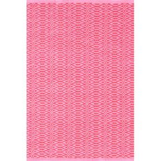 Dash and Albert Rugs Fair Isle Hand Woven Pink Area Rug Rug Size: 2' x 3'