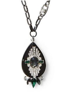 Sabine Art Deco Pendant Necklace | Piperlime