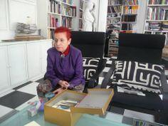 """ST Libro Objeto """"la Des-MEMORIA"""". Artista invitada Concha Jerez."""