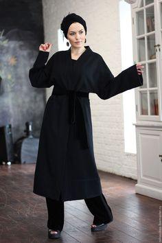 Пальто кардиган Oriental Сharm - купить или заказать в интернет-магазине на Ярмарке Мастеров - C5I0DRU. Москва | Красивое и эффектное пальто-кардиган из плотного…