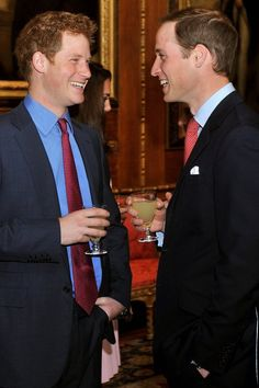 The Hilarious Reason Prince William Can't Wait For Harry to Get Married