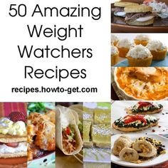 50 Amazing Weight Watchers Recipes... - Click image to find more food & drink Pinterest pins