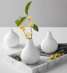 Home Decor Kitchen, Home Office Decor, Ceramic Planters, Ceramic Vase, Flower Vases, Flower Pots, Clay Vase, White Vases, Minimalist Decor