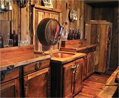 They tell me that this is a bathroom and not a saloon! What do you think?