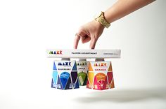 Mazé Nutrition Meal Replacement by Zack Guerra, via Behance