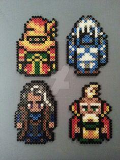 Final Fantasy VI Perler Bead Figures by AshMoonDesigns on DeviantArt
