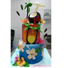 Hawaii Cake, Children, Young Children, Boys, Kids, Child, Kids Part, Kid, Aloha Cake