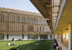 Gallery of The French International School of Beijing / Jacques Ferrier Architecture - 7