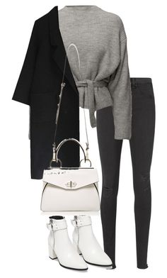 """""""Untitled #4883"""" by theeuropeancloset on Polyvore featuring rag & bone/JEAN, Steve Madden and Handle"""