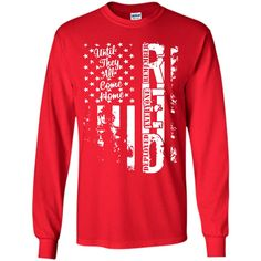 Red Friday Flag Grunge T-Shirt