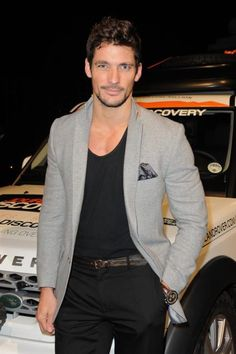 David Gandy attended dinner to celebrate the 1 millionth Land Rover Discovery Expedition at the Royal Geographic Society, London, UK.  Wednesday 29th February 2012