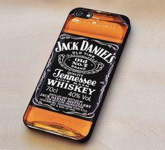 Whiskey Jack Daniels iPhone 6s 6 6s  5c 5s Cases Samsung Galaxy s5 s6 Edge  NOTE 5 4 3 #movie #supernatural #superwholock #sherlock #doctorWho lk