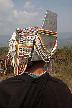 Myanmar / Burma | Akha tribal woman near the village of Wan Pin, Shan state | ©sensaos, via flickr
