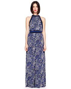 MICHAEL Michael Kors  Paisley-Print Maxi Dress.