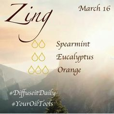 √ -- Zing -- Clean and fresh. A great waker-upper blend. Essential Oils 101, Essential Oil Diffuser Blends, Young Living Essential Oils, Aromatherapy Oils, Aromatherapy Recipes, Terra Oils, Diffuser Recipes, Living Oils, Room Scents