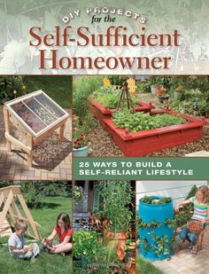 DIY Projects for the Self-Sufficient Homeowner: 25 Ways to Build a Self-Reliant Lifestyle: Betsy Matheson: 9781589235670: Amazon.com: Books Ex Libris <3