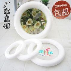 diy wedding decoration DIY craft materials foam foam wreath circle Paul Lilly Dragon Ball Wholesale - Taobao