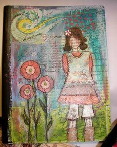 Mixed-media art.....she-art.  GREAT (faith based) Blog.