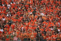 Cheer on a Miami Hurricanes football game