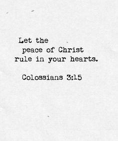 Peace of Christ!! ♡