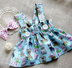 BABY GIRL/'S Joyeuses Pâques rose tutu ange robe nouveau-né Cadeau Amour Mignon Party