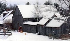can you see Tasha Tudor and her corgies :) Woodstock Vermont, Tudor Cottage, Story Writer, Winter Beauty, Corgis, Monet, Barns, New England, Cherry