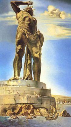 As sete maravilhas do mundo antigo - O COLOSSO DE RODES