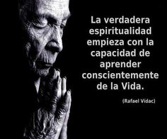 La verdadera espiritualidad...