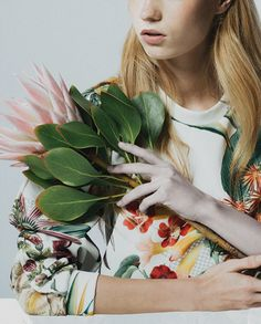 """Collage for Cameo The Label's """"Grand National"""" collection. Fashion Collage, Fashion Shoot, Editorial Fashion, Fashion Beauty, Collage Kunst, Collage Art, Flower Collage, Flower Prints, Grand National"""