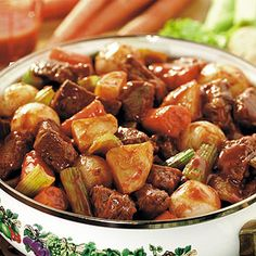 Oven-Baked Beef Stew. On busy days, Grandma counted on easy recipes like this to feed  her family.