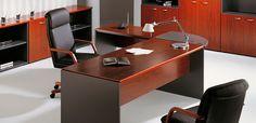 Delta -- Características: Es una serie gerencial exclusiva que refleja prestigio y representatividad. La sencillez y armonía de sus líneas generan un producto elegante y funcional. Infórmate más sobre este mueble dándole clic a la imagen.