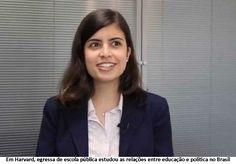 """Além d'Arena: Entrevista - Tábata Amaral de Pontes:  """"A educação..."""