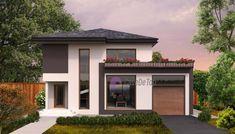 Model 138mp | Case de top Garage House, Design Case, House Plans, Exterior, House Design, Mansions, Architecture, House Styles, Outdoor Decor