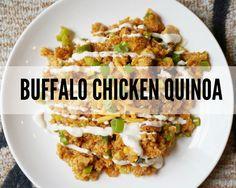 Buffalo Chicken Quinoa
