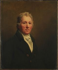 William Forsyth (1749–1814) Forsyth was a merchant from Aberdeen. He married Mary Rannie (1756–1826) in 1777 and they had four children: Margaret, born in 1779 and later Mrs. William Smith; James, born in 1781; William, born in 1783; and Thomas, born in 1789. The family lived in Nova Scotia from 1784 until 1800, when they returned to Scotland and settled at Greenock, near Glasgow. Both parents sat for Raeburn shortly after their return, and there are two versions of each portrait.