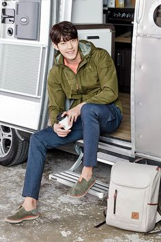 Merrell SS 2016 Ad Campaign With Kim Woo Bin | Couch Kimchi