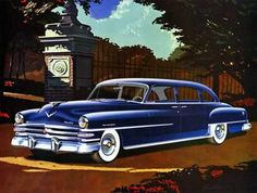 1953 Chrysler New Yorker Eight-Passenger Sedan