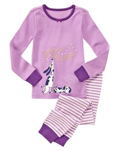 Starry Dogs Two-Piece Gymmies® at Gymboree