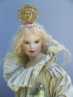 Hanna Goetz One of a Kind Dolls at the Dollery