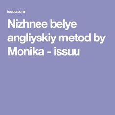 Nizhnee belye angliyskiy metod by Monika - issuu