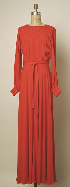 Dress, Evening Valentino (Italian, born 1932) Date: ca. 1970