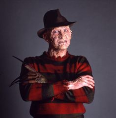 June 6: Robert Englund! Pictured here in his signature role, as fictional serial killer Freddy Krueger, in the 'Nightmare on Elm Street' film series.
